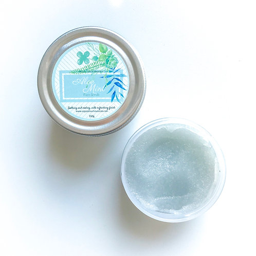 Aloe Mint Face Scrub