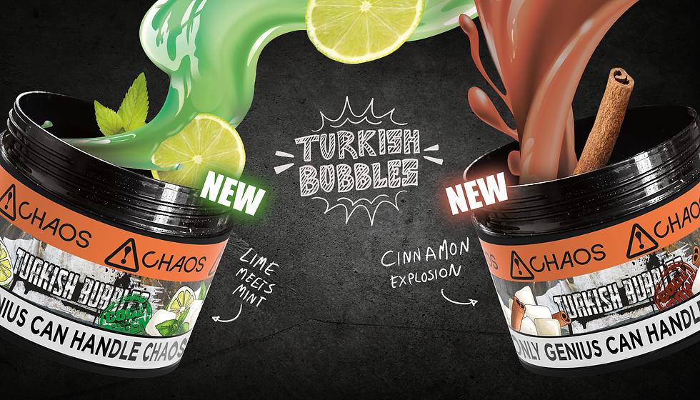 Chaos Turkish Bubbles