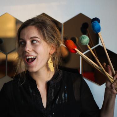 Clara Warnaar, Percussion/Drums