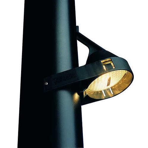 Aquasignal Decksstrahler 12V/35W schwarz