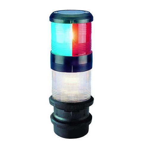 Aquasignal S40 Tricolor / 360° weiß, quicfit, 12V