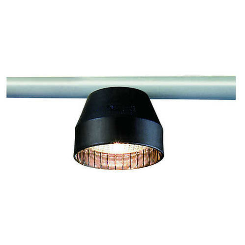 Aquasignal Decksstrahler HH, schwarz 12V/35W