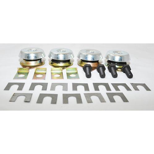 Bukh elastische Lagerung 4-Stk DV36/48