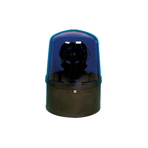 Aquasignal Blitzleuchte blau, schwarz, 12V