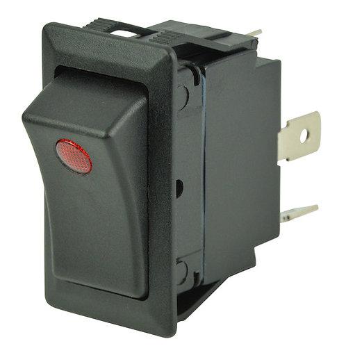 BEP Wippschalter (Oin)-Off-(Oin) einpolig 12V