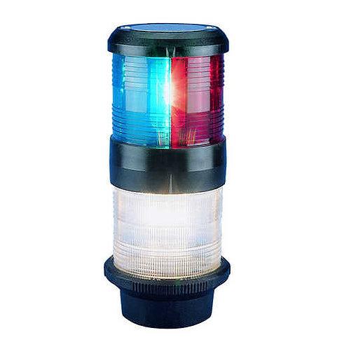 Aquasignal S40 Tricolor / 360° weiß, Anker, 12V
