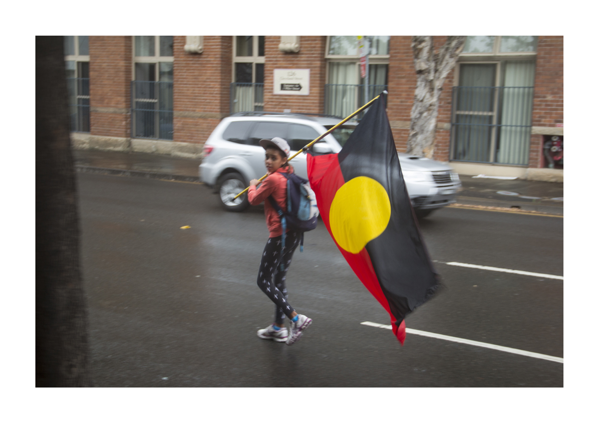 Aboriginal girl -A1 - 594mm x 841mm