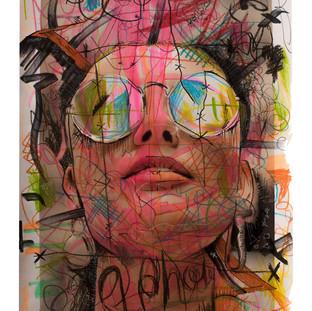 Phoebe front MM mixed media XXXX - LAX exhibit - A1 - 594mm x 841mm .jpg
