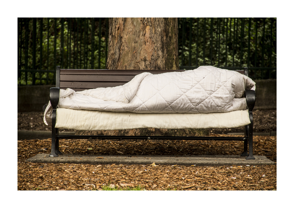 Homeless doona - A1 - 594mm x 841mm
