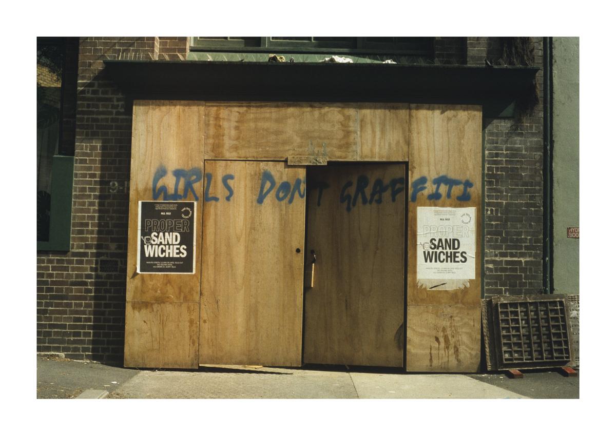 girlsdontgraffiti - STREET - A1 - 594mm x 841mm