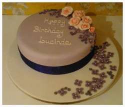 Lavender flower cascade