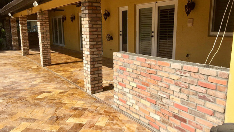 OUTDOOR ENTRIES  _ Stonewall Masonry _St