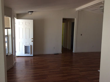 after Image. entry way remodel after a house a fire. Radar Restoration your local Arizona Restoration Specialists and General Contractor.