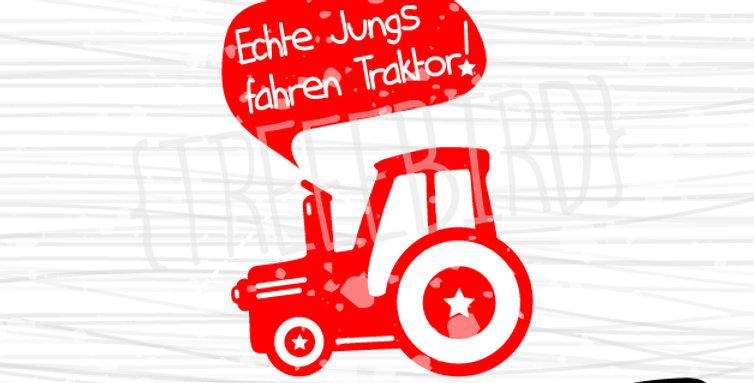 Traktor von treeebird