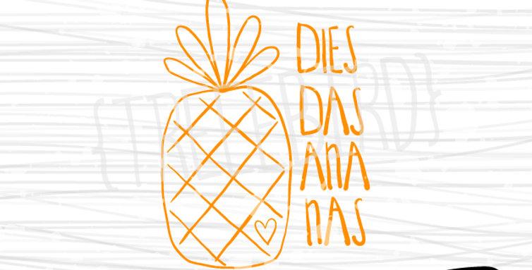 Ananas von treeebird