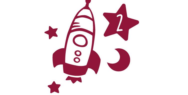 Geburtstag Rakete