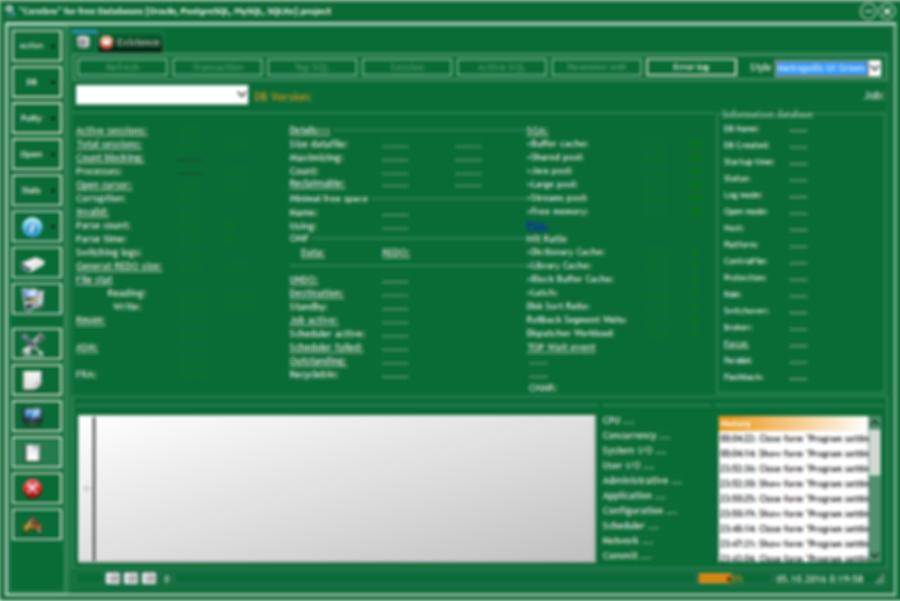 Cerebro program style [Metropolis UI Green]