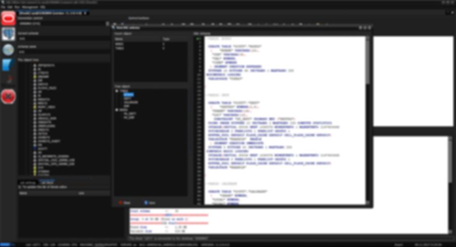 Oracle Show DDL schema