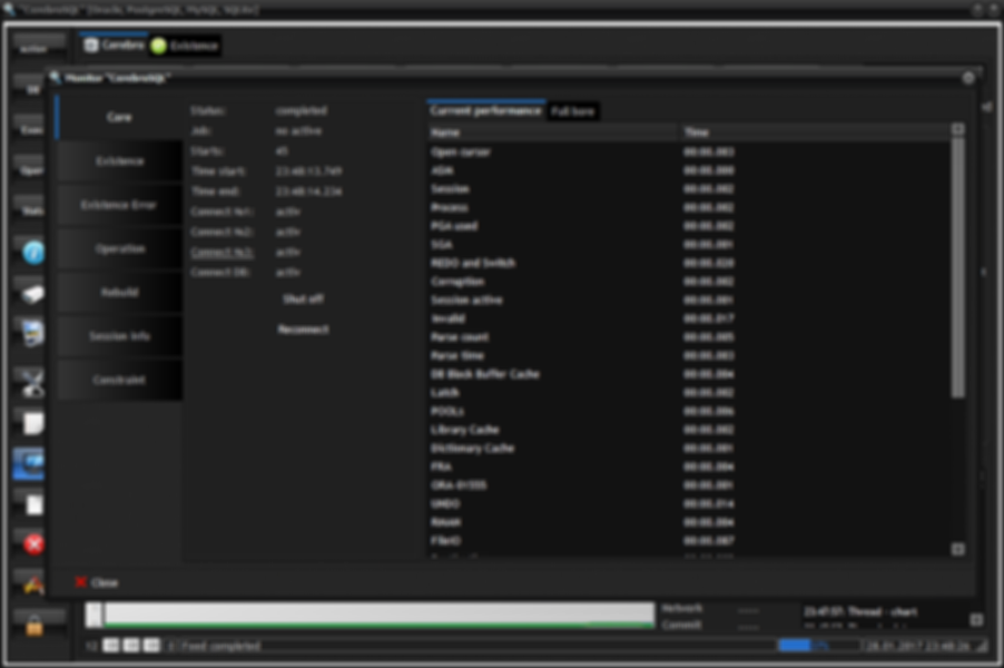 Program monitor: tab core