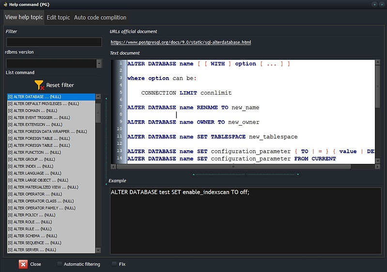 CerebroSQL code helper - view topic