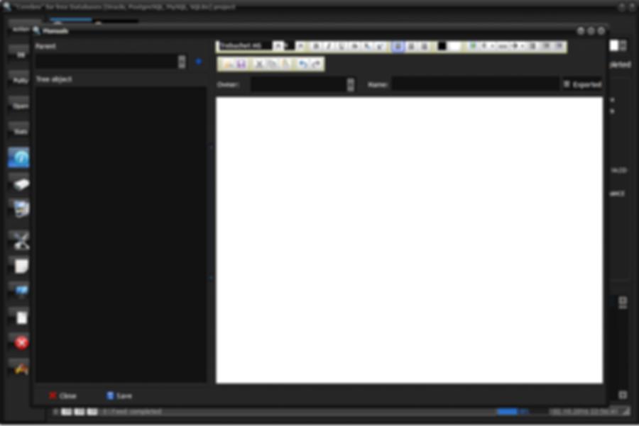 Show user manual window