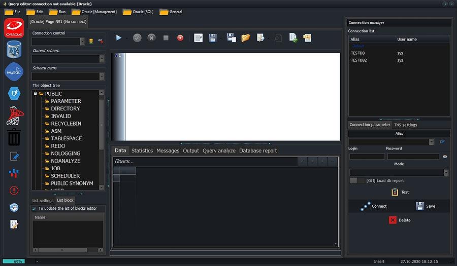 CerebrSQL - Query editor for Oracle