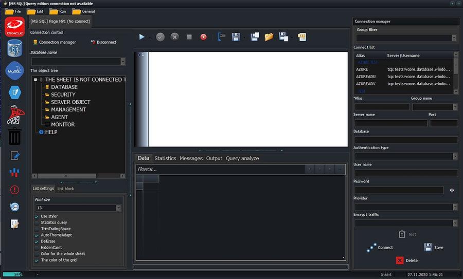 CerebroSQL - mssql create page