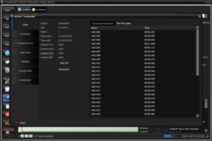 Program monitor: the first pass