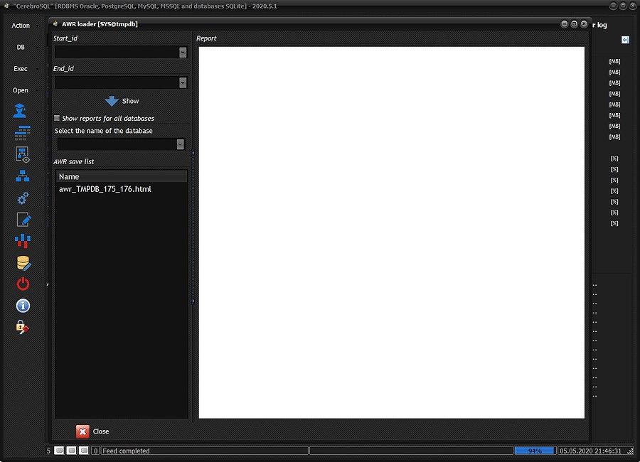 Create AWR report - show window.jpg