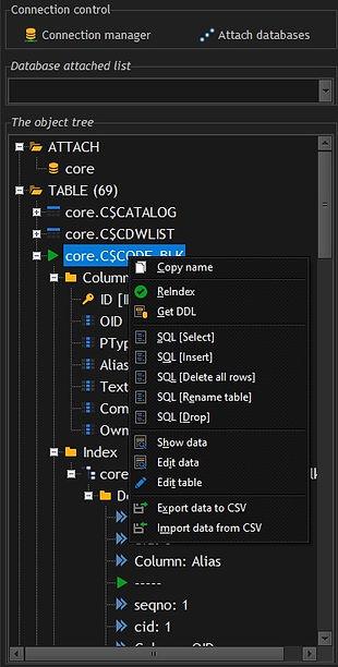 CerebroSQL SQLite tree object - table.jp