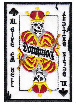 custom skull king card patch