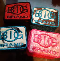 custom big o brand patches