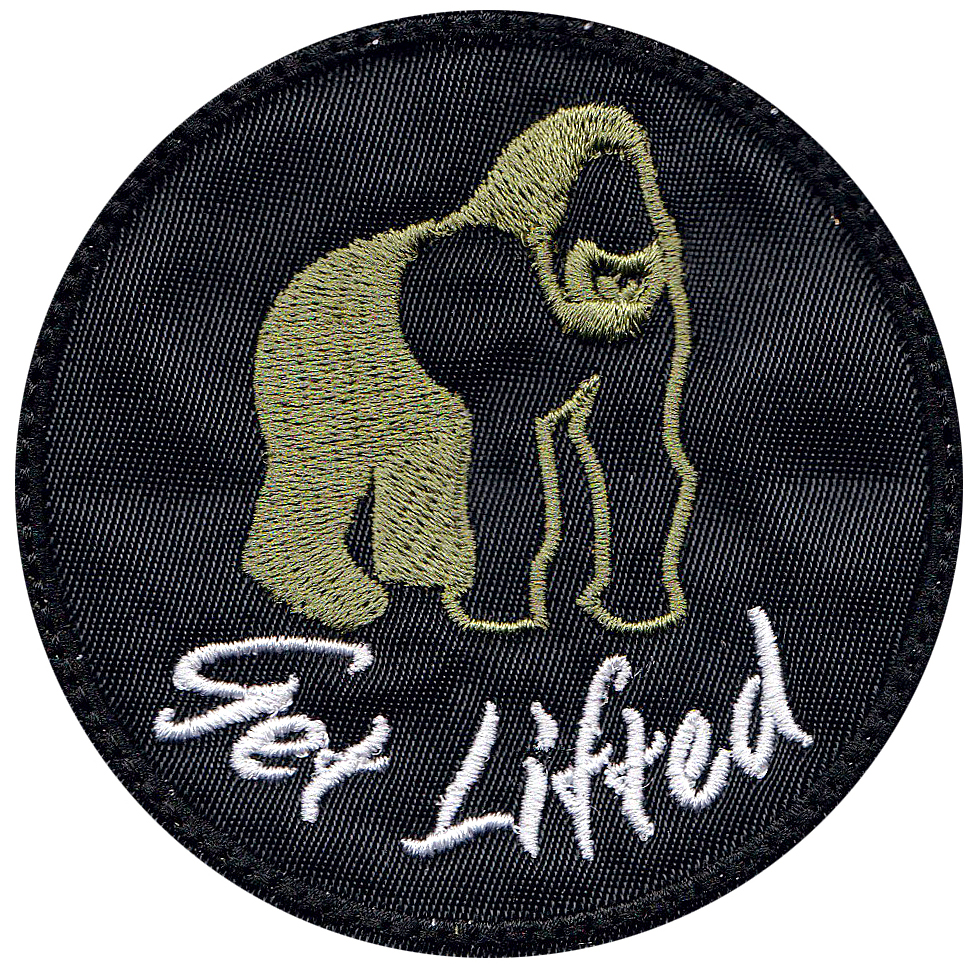 custom gym gorilla patch