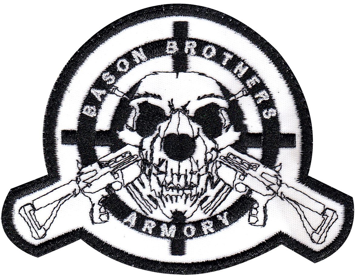 custom gun shop patch