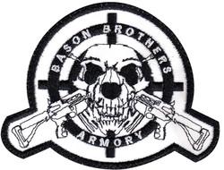custom gun shop patch