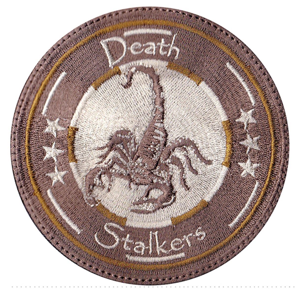 custom military death stalker patch