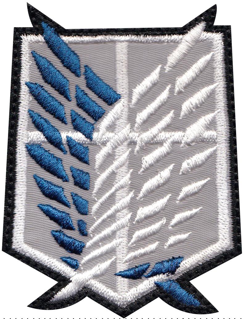 custom wings patch