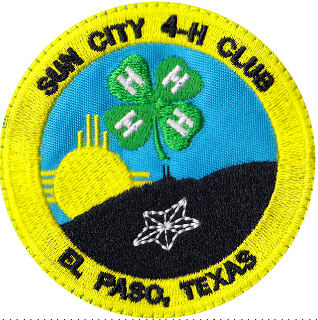 custom 4h club patch