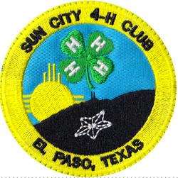 custom 4h club patch