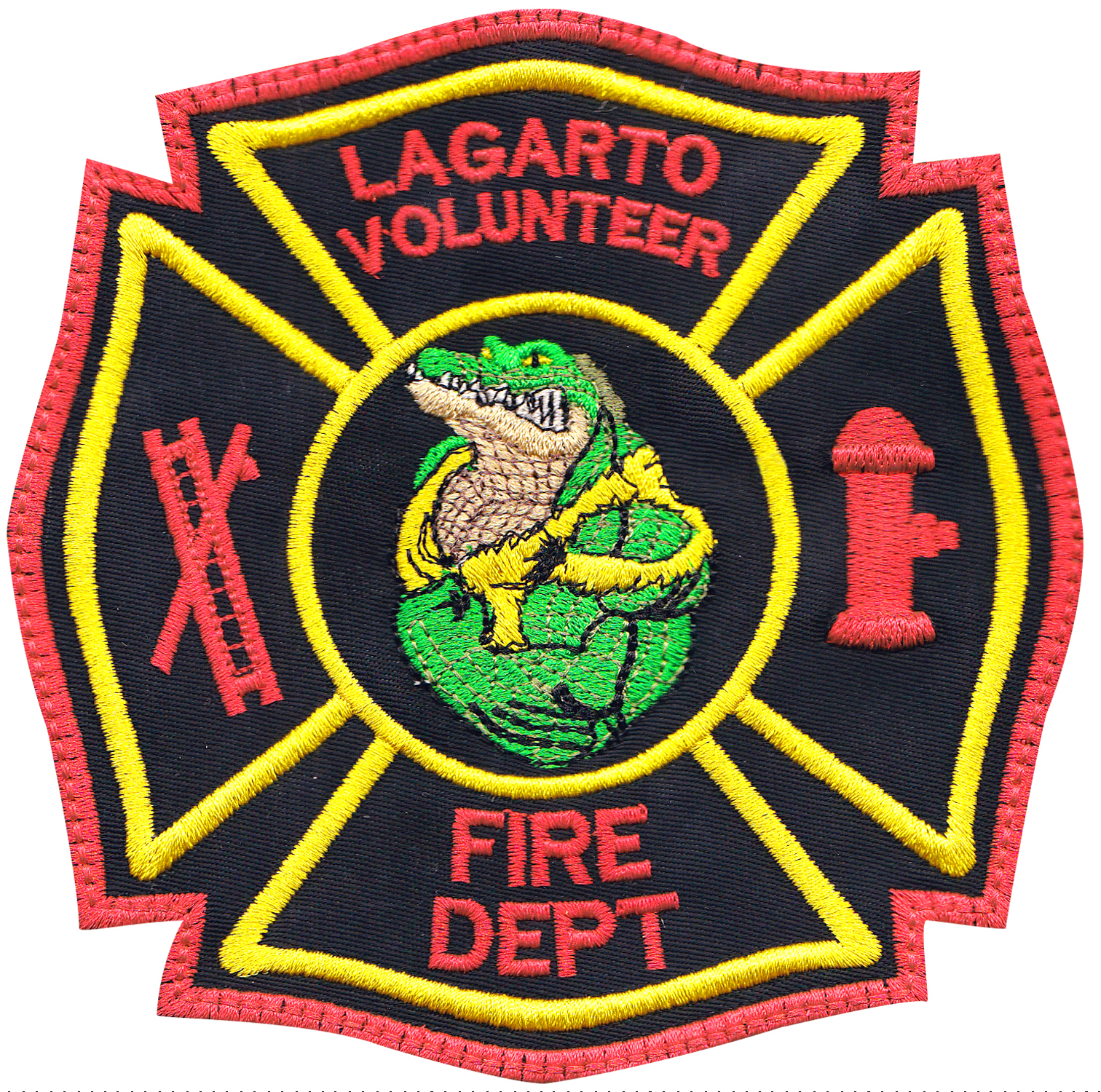 custom firefighter patch