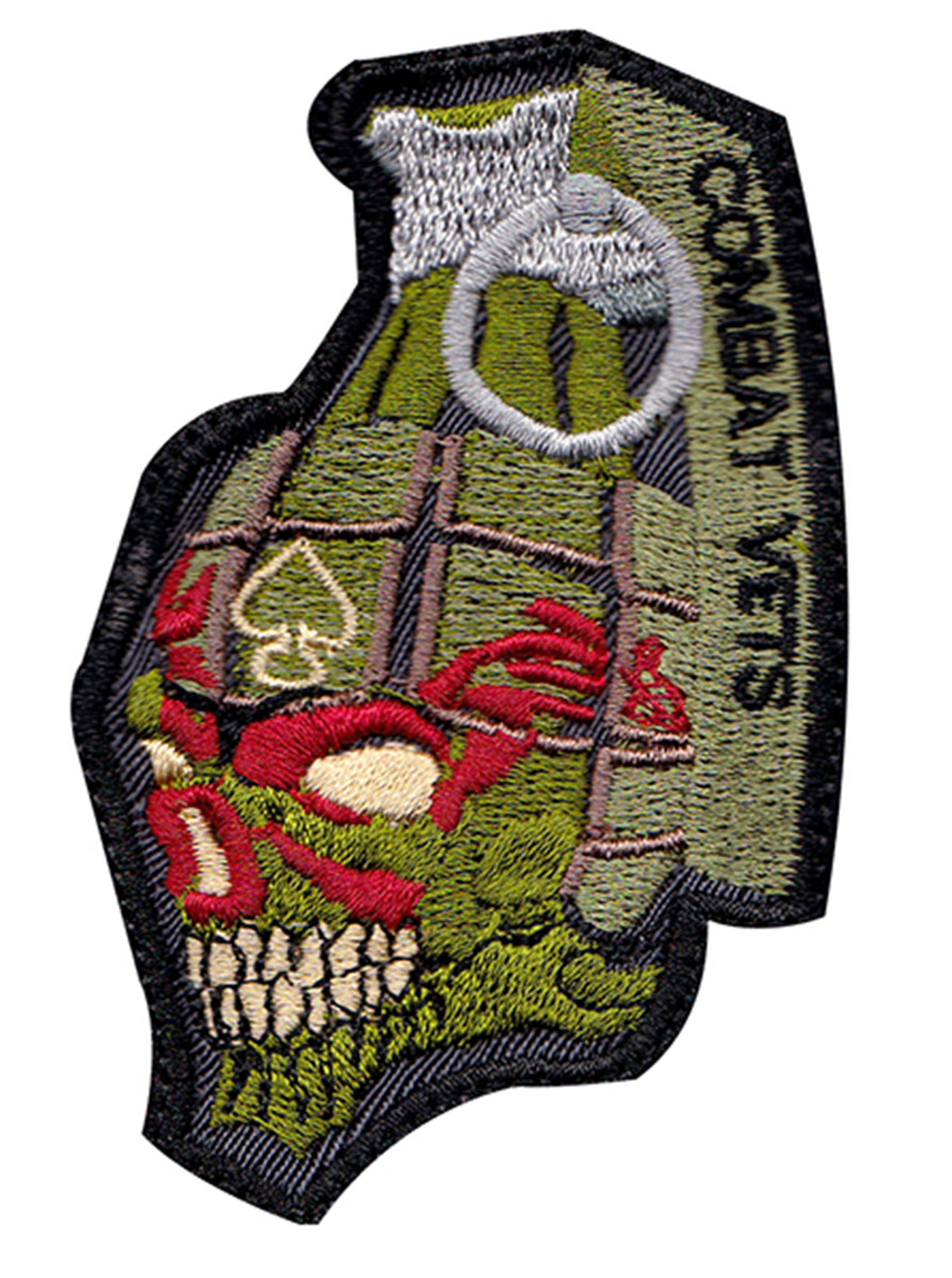 custom combat vets patch