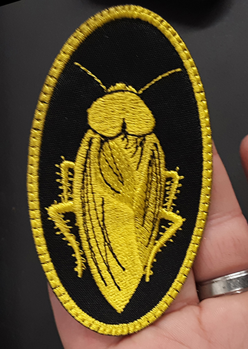 custom cockroach patch