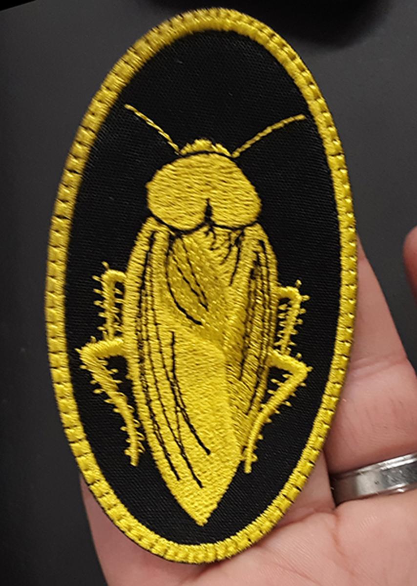 custom cockroach patch