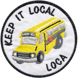 custom food truck patch