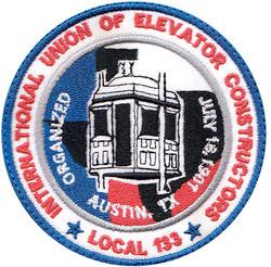 custom elevator union patch