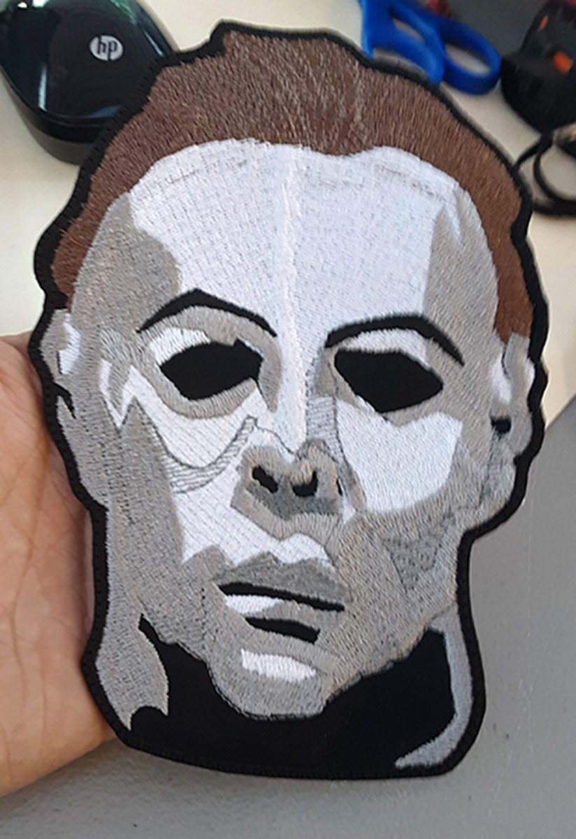 custom michael myers patch