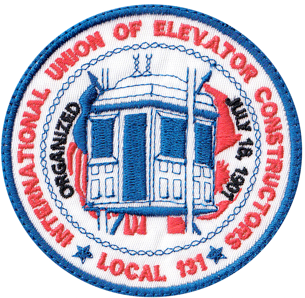 custom elevator union patch