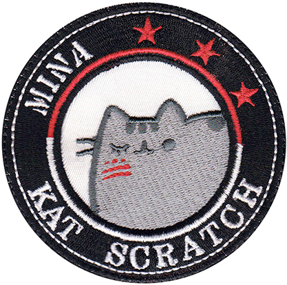 custom cat patch