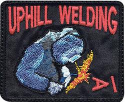 custom welding patch