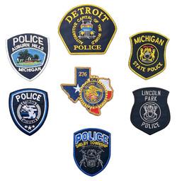 custom police patch